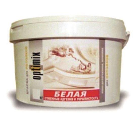 Изображение Краска для потолков - белая. 3 кг