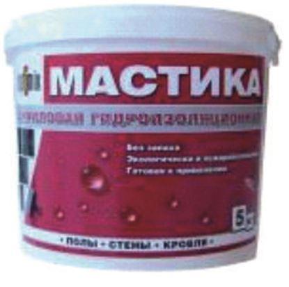 Изображение Мастика акриловая гидроизоляционная. 10 кг