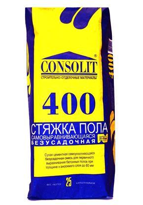 Изображение Стяжка пола самовыравнивающаяся - 400, 25 кг
