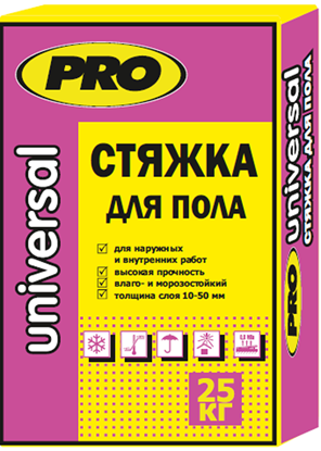 Изображение Стяжка ( ровнитель ) для пола, 25 кг