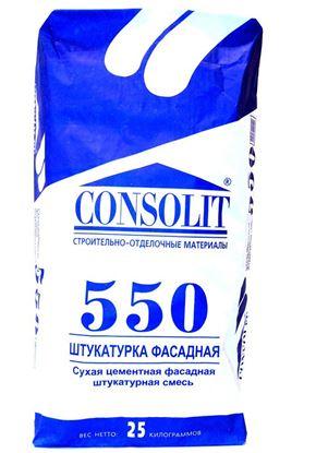 Изображение Штукатурка фасадная - 550. 25 кг