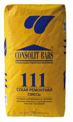 Изображение Сухая ремонтная смесь бетонных и железобетонных конструкций и материалов  BARS 111. 30 кг